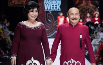 NSND Hồng Vân, Hoàng Sơn ngượng ngùng khi làm người mẫu