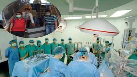 Trái tim của chàng trai Vũng Tàu đã hồi sinh trong thân thể của bệnh nhân ở Huế