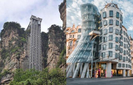 Clip: Những công trình kiến trúc độc đáo trên thế giới