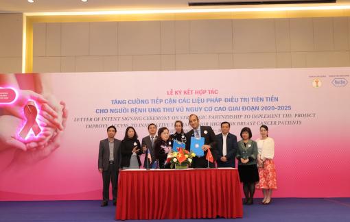 Niềm hy vọng mới cho bệnh nhân ung thư vú ở Việt Nam