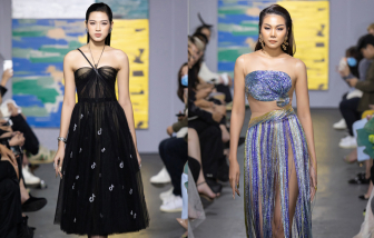 Hoa hậu Đỗ Thị Hà, Thanh Hằng so kè vẻ gợi cảm trên sàn diễn