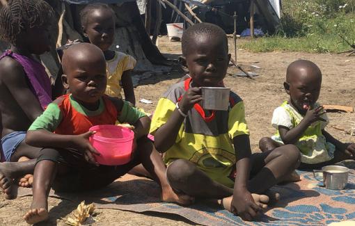 Hàng ngàn người dân Nam Sudan đang chết mòn vì đói