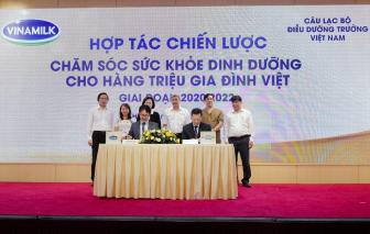 Vinamilk đẩy mạnh hợp tác chiến lược với các tổ chức y tế Việt Nam và dinh dưỡng quốc tế để chăm sóc sức khỏe cho hàng triệu trẻ em và người cao tuổi Việt Nam
