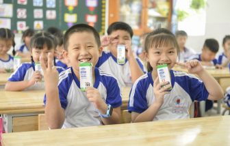 Chương trình Sữa học đường TP.HCM mở rộng đến 24 quận, huyện