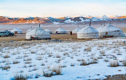 Thời tiết cực lạnh kỷ lục thế giới ở  Mông Cổ