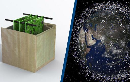Nhật Bản giảm rác thải vũ trụ với vệ tinh bằng... gỗ đầu tiên trên thế giới