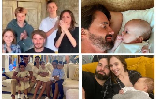 Sao thế giới khoe khoảnh khắc đón năm mới ấm áp bên gia đình