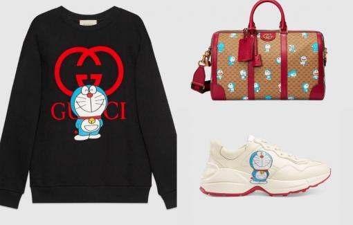 Gucci ra mắt bộ sưu tập Doraemon chào đón Tết Nguyên đán 2021