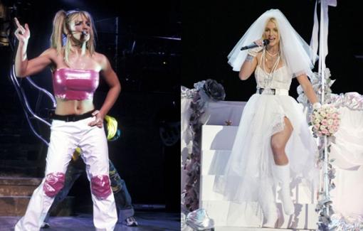 10 'bộ cánh' mang tính biểu tượng của Britney Spears hơn 2 thập kỉ