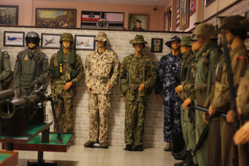Có một bảo tàng vũ khí cổ ở Vũng Tàu