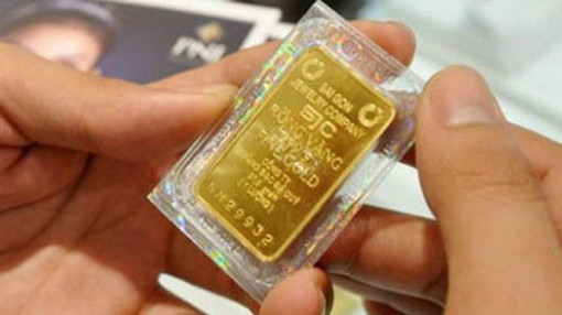 Giá vàng tăng mạnh lên 56,6 triệu đồng/lượng