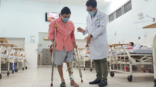 Lần đầu tiên Bệnh viện Chợ Rẫy thiết kế xương cứu bệnh nhân ung thư