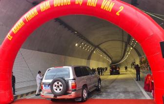 Khánh thành hầm Hải Vân 2, nhưng chỉ cho lưu thông 20 ngày dịp Tết Nguyên đán