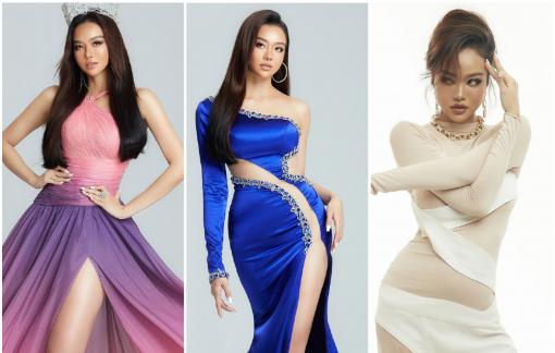 Hoa hậu Kiều Ngân biến hóa với 5 bộ trang phục
