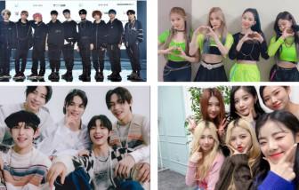 Làng nhạc Hàn Quốc năm 2021: Cuộc cạnh tranh khốc liệt
