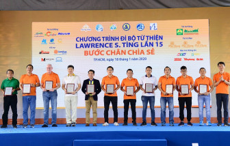 Chương trình Đi bộ Từ thiện Lawrence S. Ting lần 16 - 2021: 'Bước chân chia sẻ'