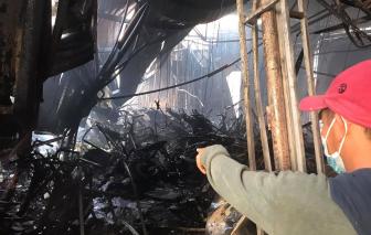 Bình Dương: Cửa hàng xe máy bị lửa thiêu rụi, thiệt hại hàng tỷ đồng