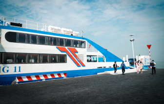 Phà biển Cần Giờ - Vũng Tàu: Giá vé còn quá cao!