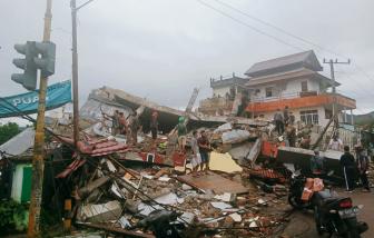 34 người chết, hàng trăm người bị thương sau động đất mạnh ở Indonesia