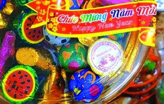 Bánh, kẹo mứt lậu thành hàng… nhà làm