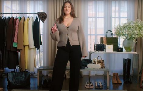 """Clip: """"Mẫu béo"""" Ashley Graham hướng dẫn phối đồ cho nàng mũm mĩm"""