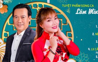 Lâm Minh Thảo và Vinh Tuấn ra mắt album 'Nâng chén tình Xuân'