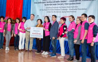 """Nu Skin Việt Nam và nhà phân phối hỗ trợ chương trình """"Hướng về miền Trung"""""""