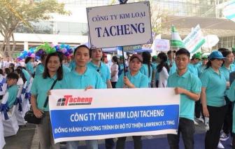 Tacheng 16 năm đồng hành cùng chương trình Đi bộ từ thiện Lawrence S. Ting