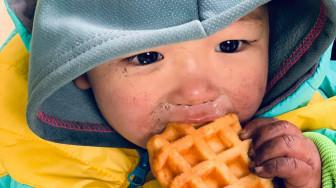 Nhói lòng trẻ em vùng cao bỏng lạnh vì thiếu áo ấm