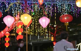 Singapore trang trí đón Tết Nguyên đán giữa đại dịch