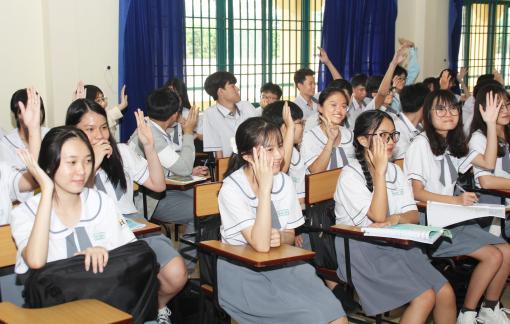 Học sinh tự chọn môn học: Liệu có bị định hướng?