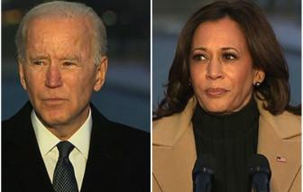 Ông Biden và bà Harris phát biểu trước lễ nhậm chức