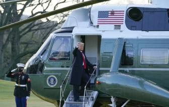 Ông Donald Trump rời Nhà Trắng, khép lại nhiệm kỳ tổng thống