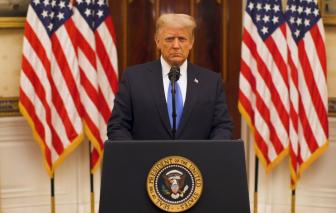 Tổng thống Trump chia tay nhiệm kỳ: Ca ngợi di sản của mình, chúc ông Biden may mắn