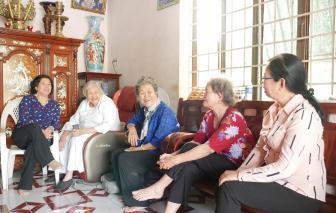 Thăm tết Ban Phụ vận Sài Gòn - Gia Định