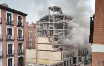 Ít nhất 14 người thương vong sau vụ nổ lớn ở Tây Ban Nha