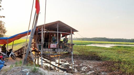Cao điểm phòng dịch và chống buôn lậu ở biên giới Tây Nam