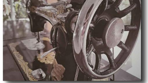 Chiếc máy may con bướm của chị Năm Cọp