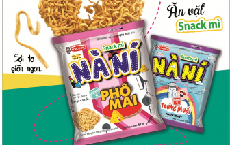 Acecook Việt Nam ra mắt sản phẩm Snack Mì Nà Ní
