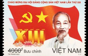 Bộ tem chào mừng Đại hội Đảng