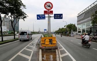 Điều chỉnh giao thông gần hầm sông Sài Gòn ngày cuối tuần