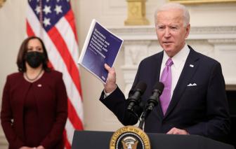Tổng thống Joe Biden quay lại WHO và Hiệp định Paris