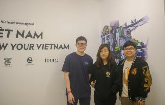 """Triển lãm """"Tái tưởng tượng Việt Nam"""" tại TPHCM"""