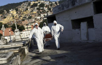 Biến chủng virus mới lây lan mạnh ở Brazil