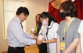 TPHCM: Thêm 50 suất học bổng dành cho con em gia đình chính sách