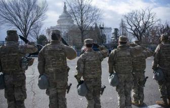 5.000 lính Vệ binh quốc gia trụ lại Washington đến giữa tháng Ba