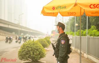 Hàng rào an ninh được thiết lập bảo vệ Đại hội Đảng lần thứ XIII