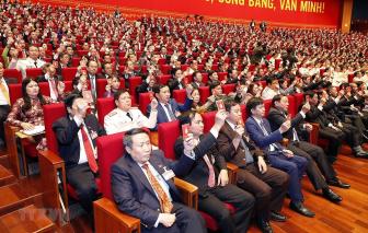 Đại biểu bày tỏ niềm tin vào một Đại hội trí tuệ và thành công