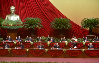 Sáng nay, khai mạc Đại hội đại biểu lần thứ XIII của Đảng