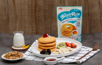 Bữa sáng tiện lợi, chuẩn dinh dưỡng với bánh rán